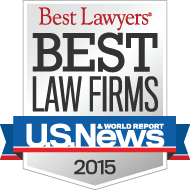 US News & World Report Best Law Firms 2015