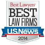 US News & World Report Best Law Firms 2014