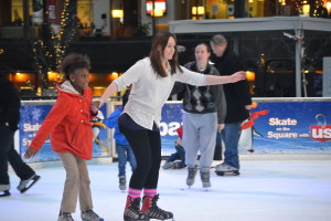 Happy New Year from Strauss Troy! Enjoy free ice skating and skate rentals courtesy of Strauss Troy on Fountain Square during New Year's Eve 2014.