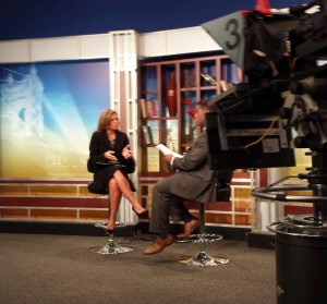 Strauss Troy tax attorney, Joy Hall (l), appeared on Fox 19 Morning News with Rob Williams (r) to discuss tax tips.