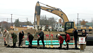 Strauss Troy Attorney Tony Barlow participated in the groundbreaking ceremony of Loveland Station, a mixed use residential and retail development in the heart of Loveland's historic district.