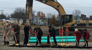 Tony Barlow, Loveland Station, Groundbreaking