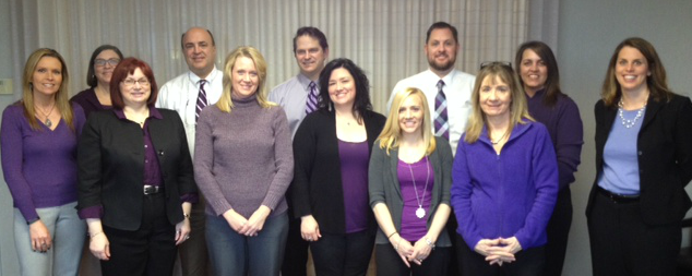 Strauss Troy's Northern Kentucky Office Shows Its Support For Epilepsy Purple Day