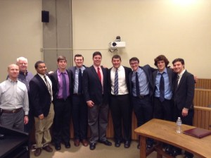Strauss Troy Attorney Brian O' Connel coached Elder High School's winning mock trial team.