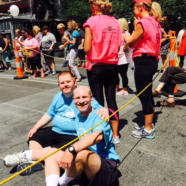 """Strauss Troy's """"Justice League"""" Reach The Finish Line In 2016 Corporate Olympics"""
