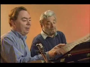 Andrew Lloyd Webber and Stephen Sondheim