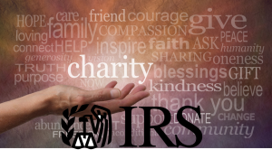 Charity IRS Word Cloud Combo