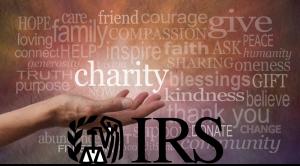 Charity IRS Word Cloud Combo