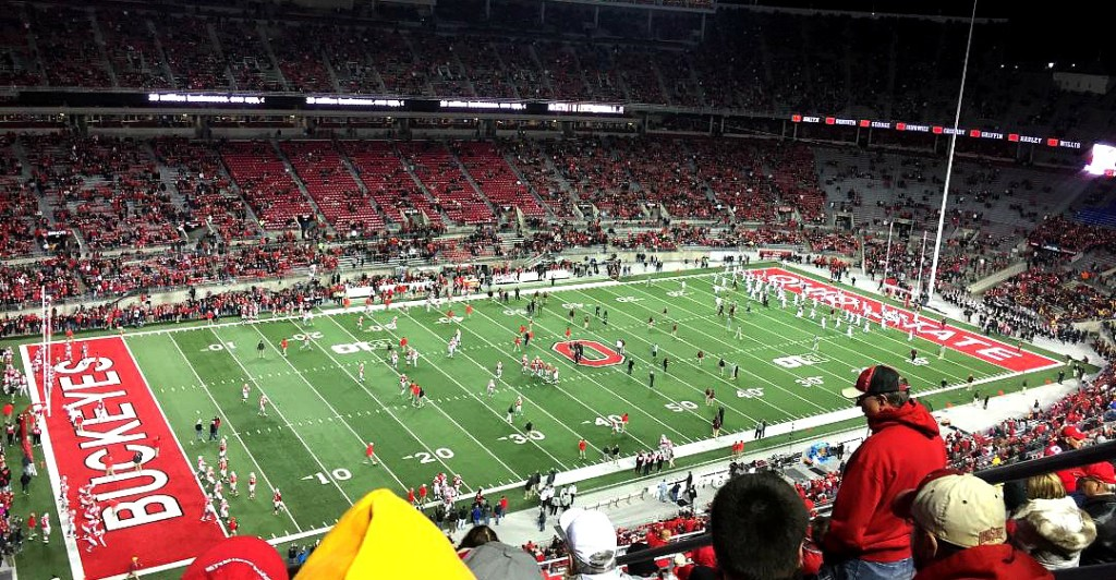 "OSU seeks trademark protection for the Horseshoe nicknamed ""The Shoe"""