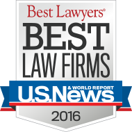 US News & World Report Best Law Firms 2016