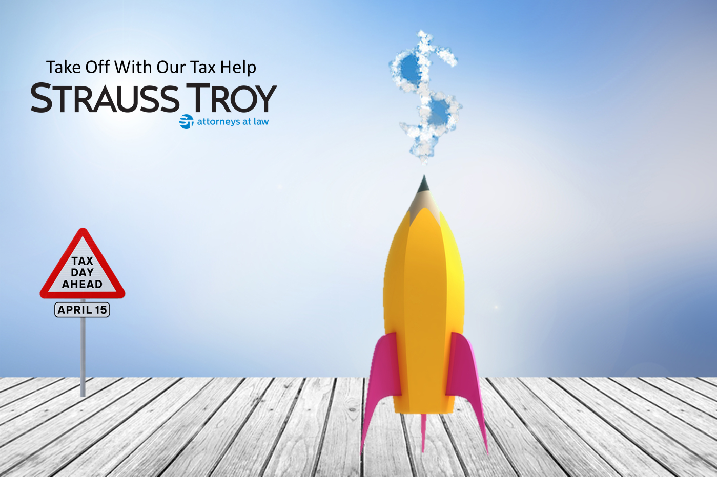 Strauss Troy Take Off With Our Tax Help
