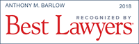 Tony Barlow was named to Best Lawyers in America 2018
