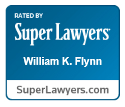 William K Flynn is rated by Super Lawyers.