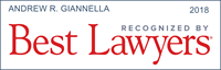 Andrew Giannella has been recognized by Best Lawyers 2018