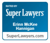 Erinn Hannigan is rated by Super Lawyers.