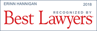 Erinn Hannigan has been recognized by Best Lawyers 2018