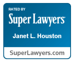 Jan Houston is recognized by Super Lawyers.