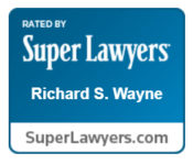 Rick Wayne is recognized by Super Lawyers.
