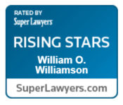Bill Williamson is recognized by Super Lawyers.