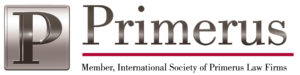 Seal of Primerus, the International Society of Law Firms