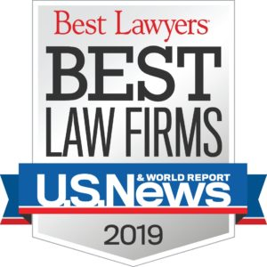 U.S. News Best Law Firms Badge for 2019
