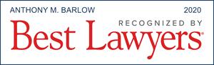 Tony Barlow, Best Lawyers 2020