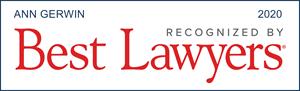 Ann Gerwin, Best Lawyers 2020