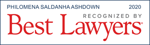 Best Lawyers 2020 Philomena Ashdown