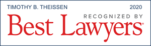 Tim Theissen, Best Lawyers 2020