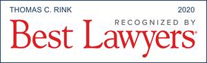 Tom Rink, Best Lawyers 2020