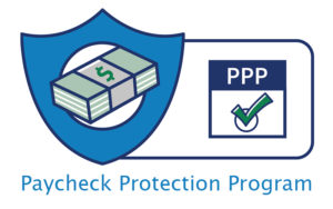 Logo for the SBA's PPP Program